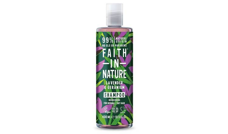 Faith in Nature Lavender Geranium Shampoo - 400ml