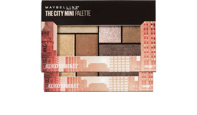 Maybelline City Mini Palette Rooftop Bronzers -Multicoloured