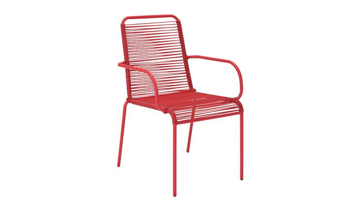 Argos Home Ipanema Garden Chair - Coral