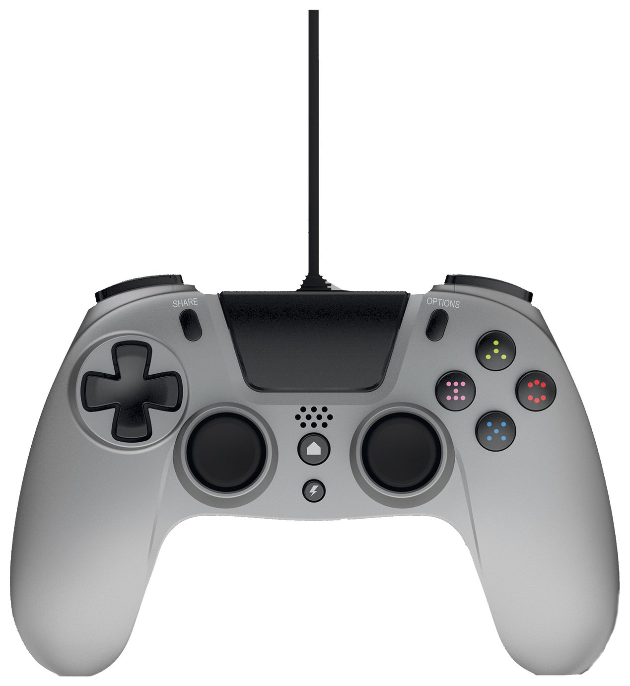 Gioteck VX-4 Wired PS4 Controller - Titanium