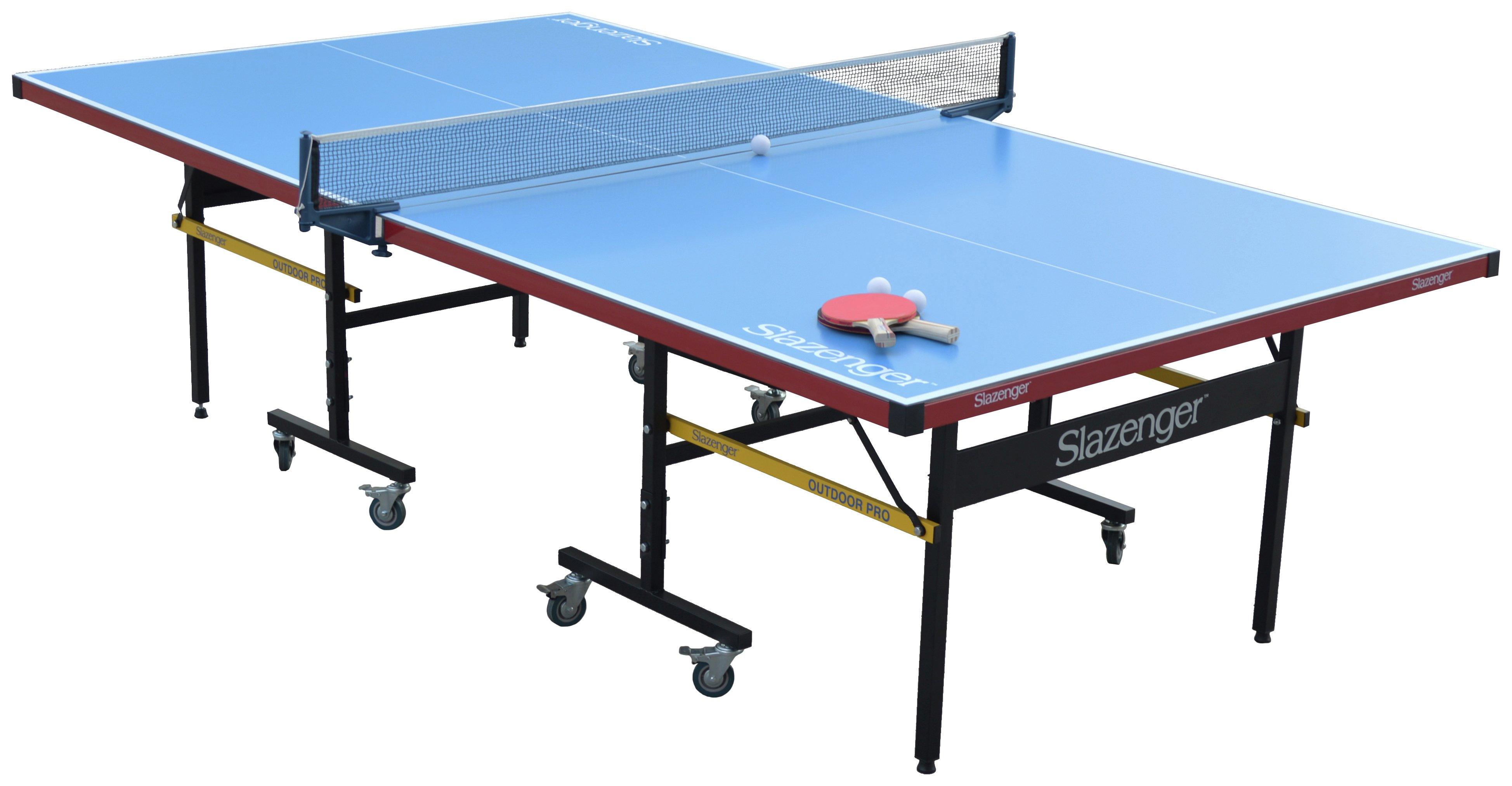 Image of Slazenger - Full Size Outdoor Table Tennis Table