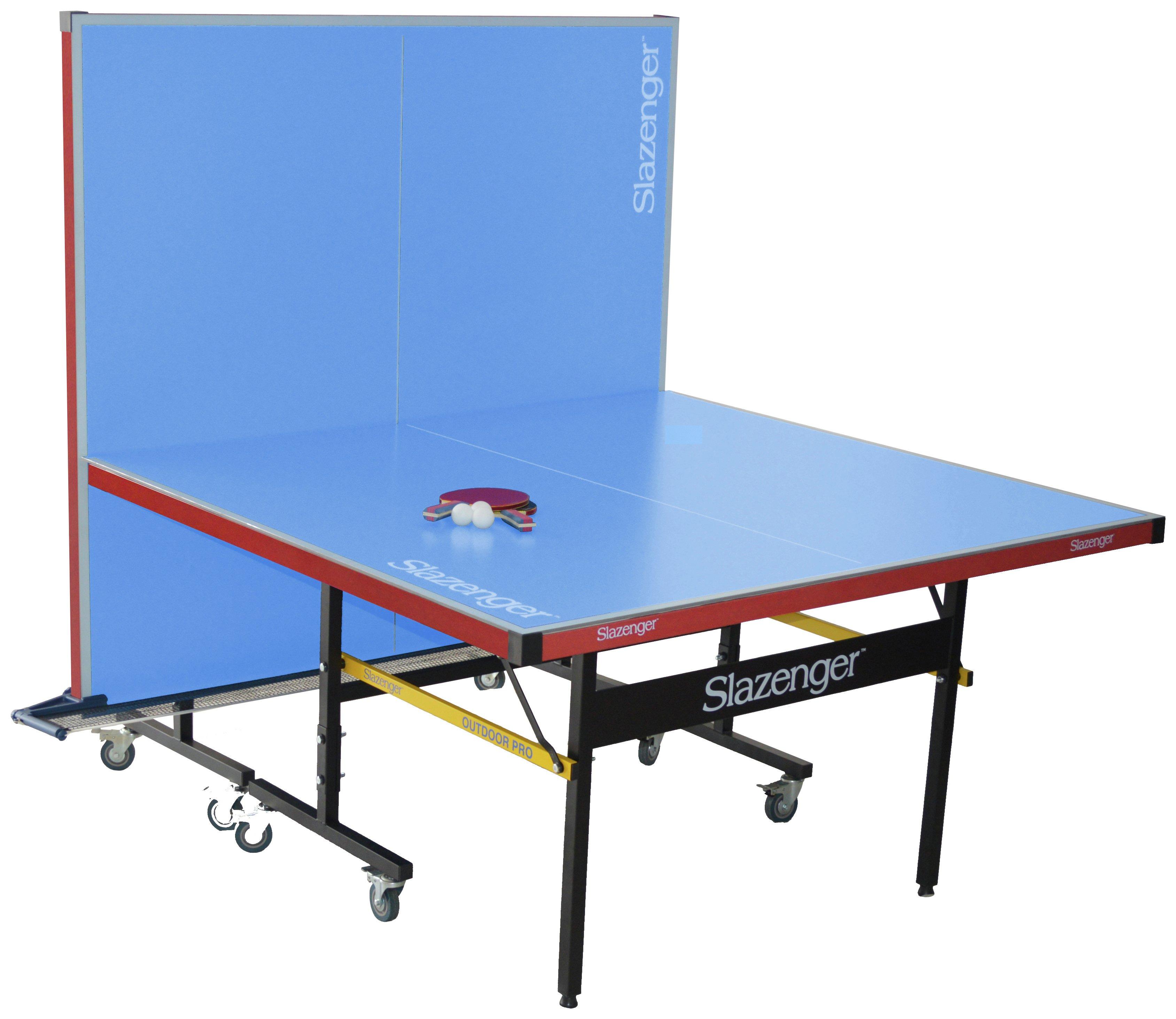 buy slazenger full size outdoor table tennis table at argos.co.uk