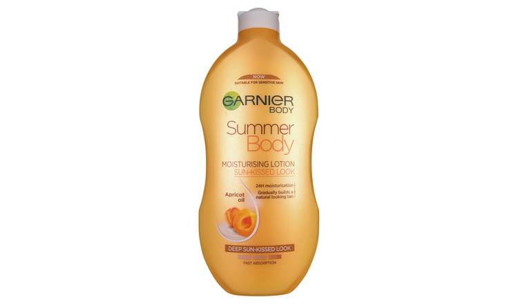 Garnier Summer Body Dark Gradual Tan Moisturiser - 400ml