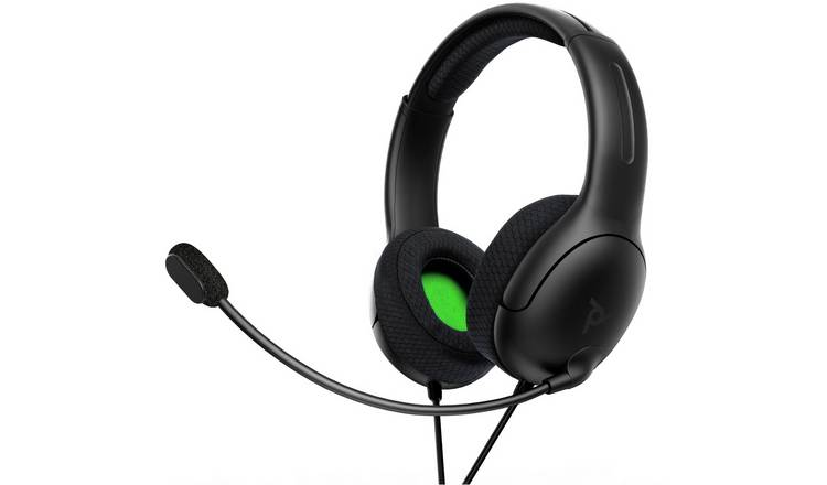 PDP Licensed LVL40 Stereo for Xbox & PC Headset - Black