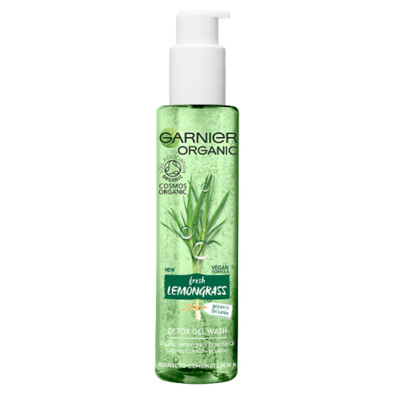 Garnier Skincare Organic Lemongrass Gel Wash