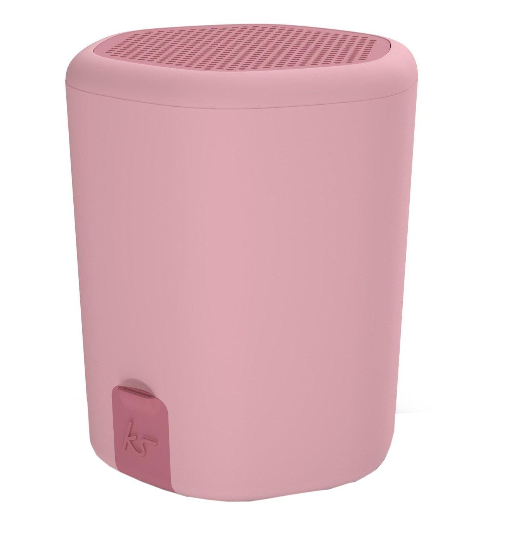 Kitsound Pocket Hive2o Bluetooth Speaker - Pink