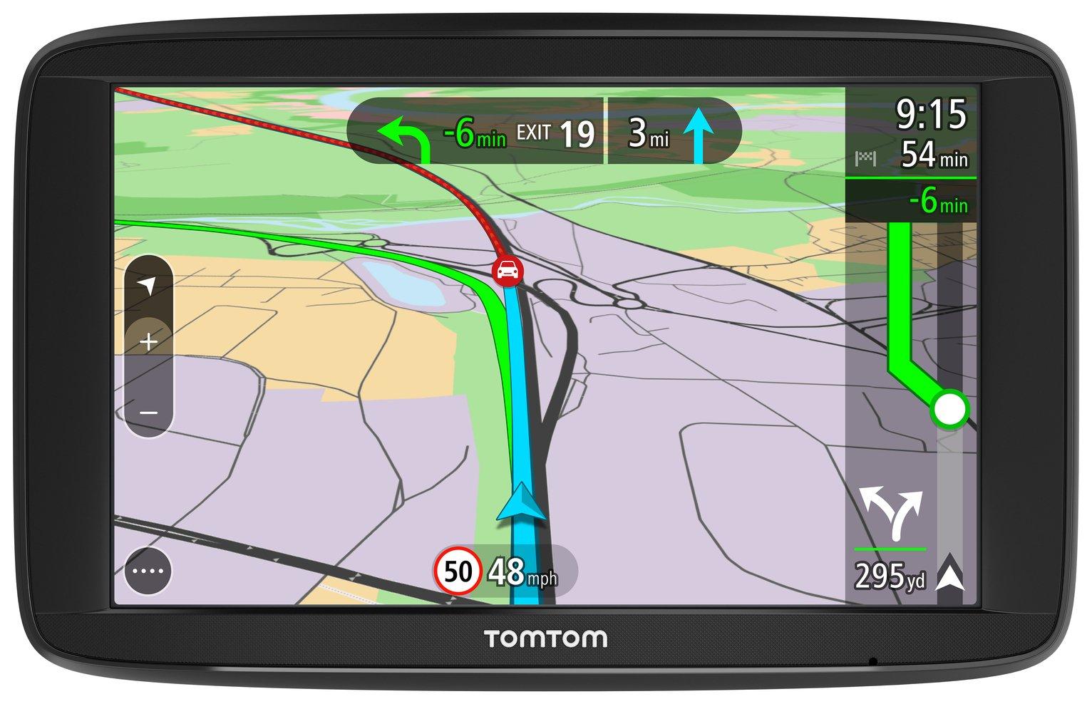 TomTom VIA 62 6 Inch UK, ROI and EU Maps Sat Nav