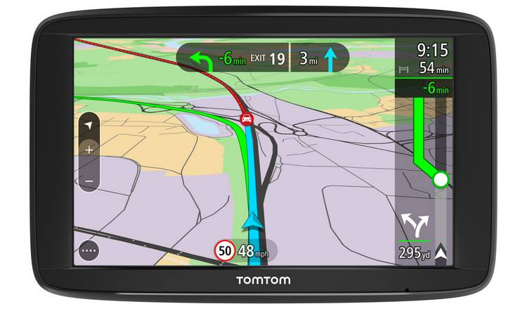 TomTom VIA 62 6 Inch UK, ROI and EU Maps Sat Nav