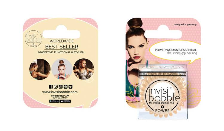 Invisibobble Power Hair Ties - Nude