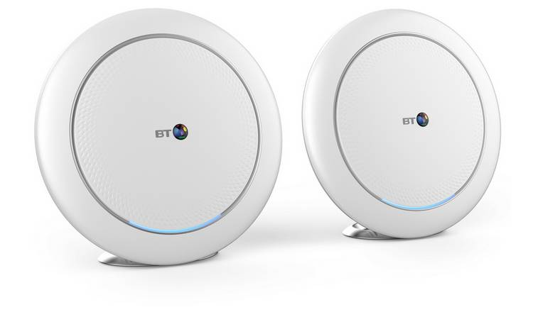 BT Premium AX3700 Whole Home Tri-Band Wi-Fi Twin Pack