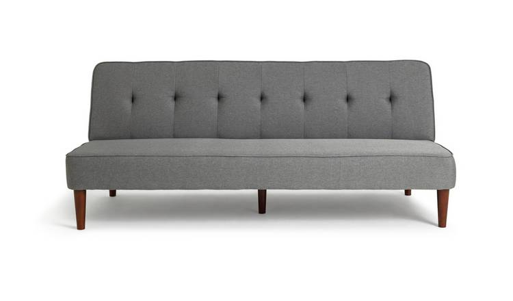 Argos Home Odeon 2 Seater Fabric Sofa Bed - Grey