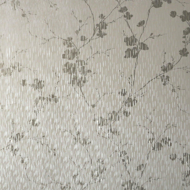 Graham & Brown Blossom Wallpaper - Cream