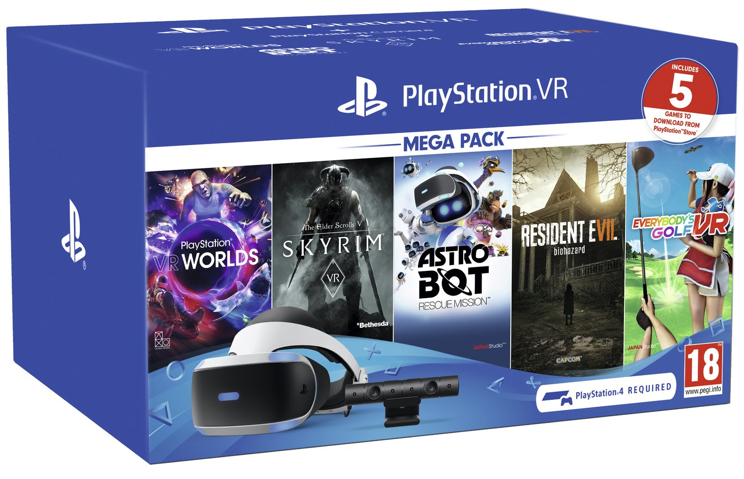 PlayStation VR Megapack 2019