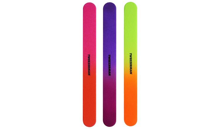 Tweezerman Neon Hot filemates
