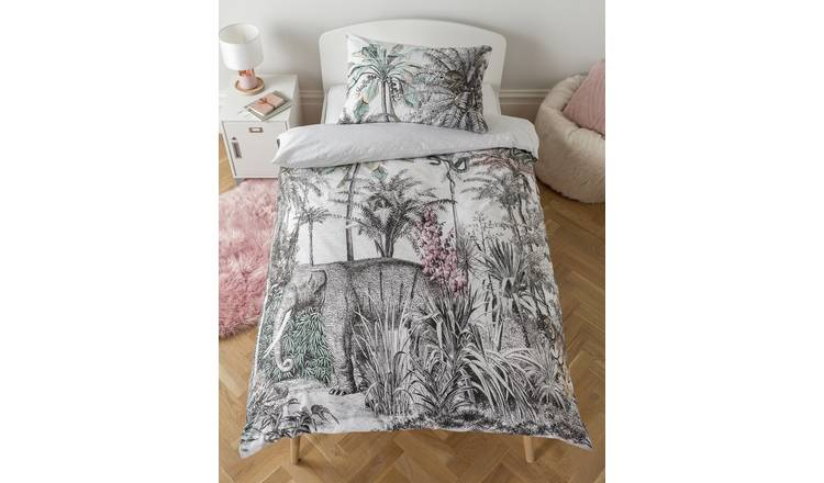 Argos Home Vintage Jungle Bedding Set