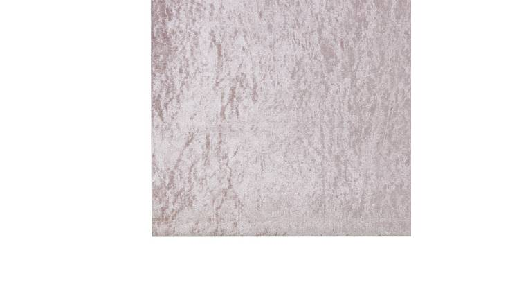 Casa Crushed Velvet Blackout Roller Blind - 3ft - Blush