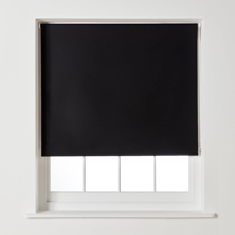 Argos Home Blackout Roller Blind - 3ft - Black