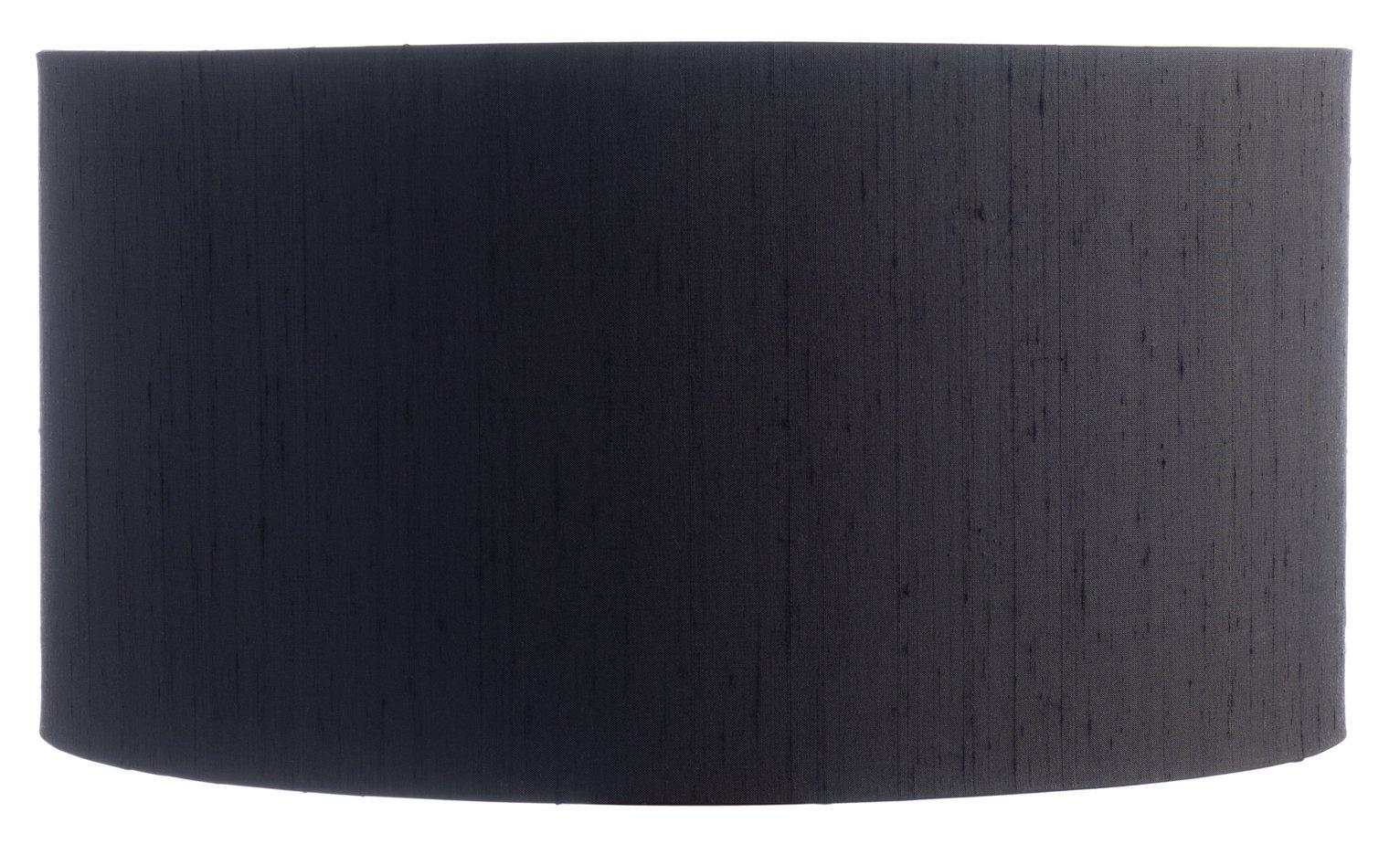 Habitat Drum Silk Shade - Black
