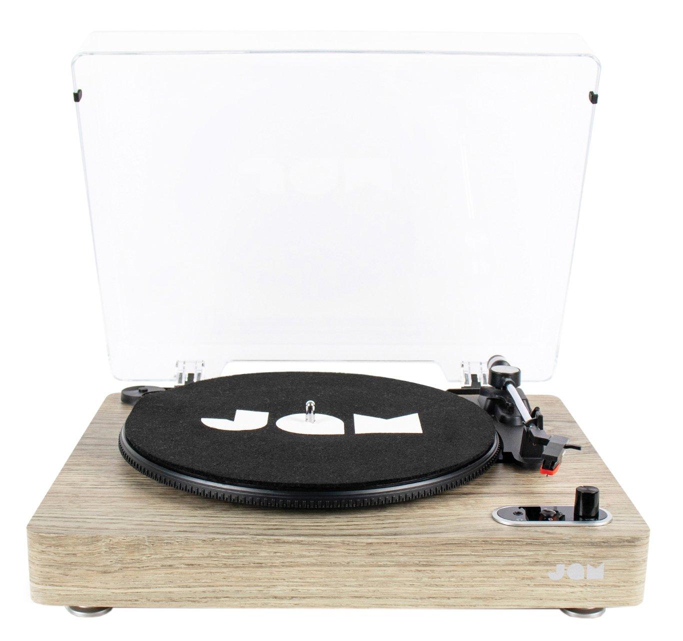 JAM Vinyl Bluetooth Record Player - Light Wood