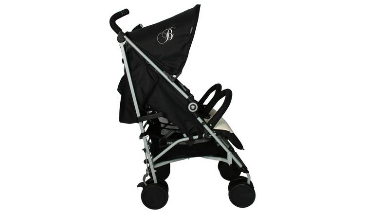 My Babiie Billie Faiers MB22 Twin Stroller -  Black & Cream
