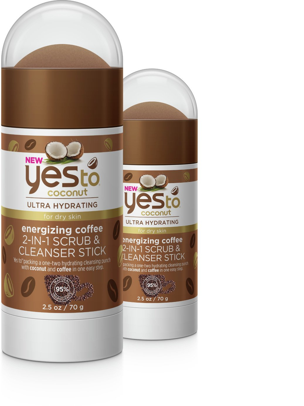 Yes To Coconut Coffee Scrub Cleanser - 70g