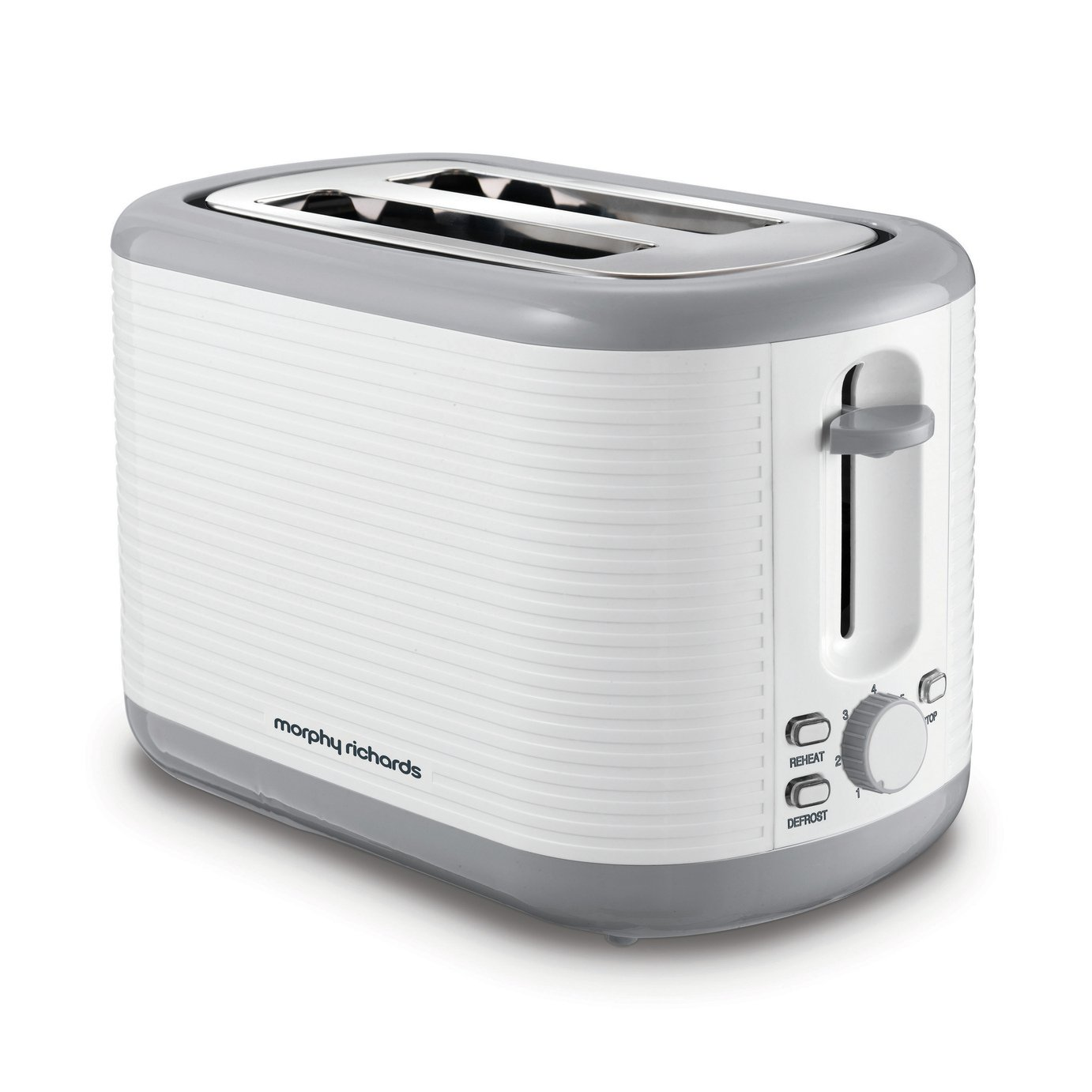Morphy Richards Arc 2 Slice Toaster - White