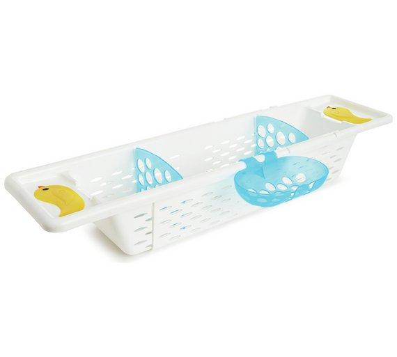 Buy Munchkin Secure Grip Bath Caddy | Baby bath accessories | Argos