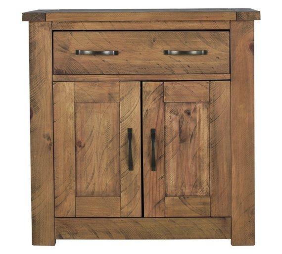 'Collection Harvard 2 Door 1 Drawer Solid Pine Sideboard