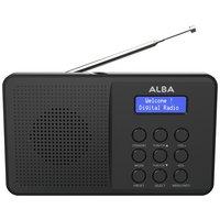 Alba - DAB/FM Radio - Black