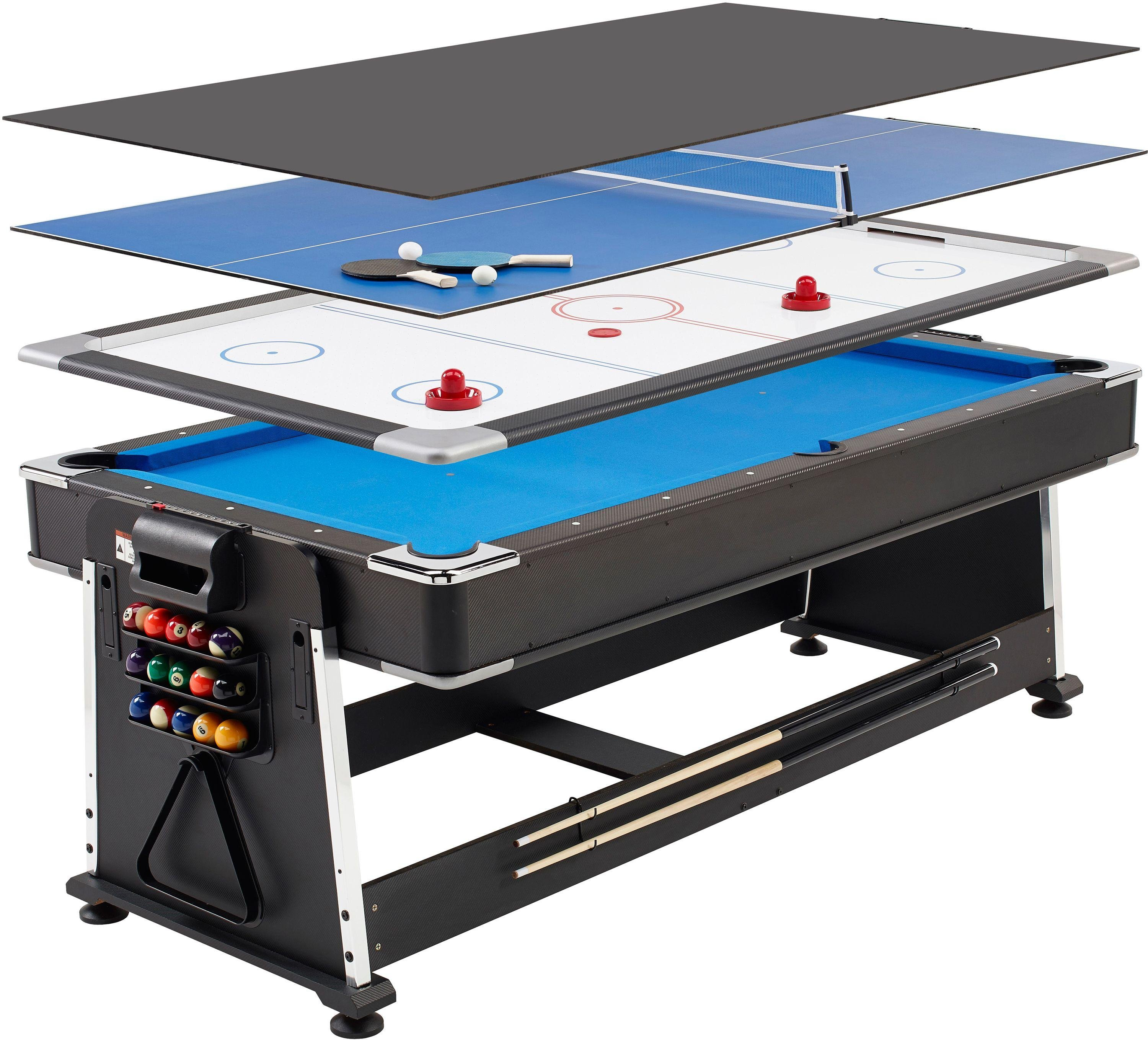 Mightymast Leisure Mightymast Leisure 7ft Revolver 3 in 1 Games Table.
