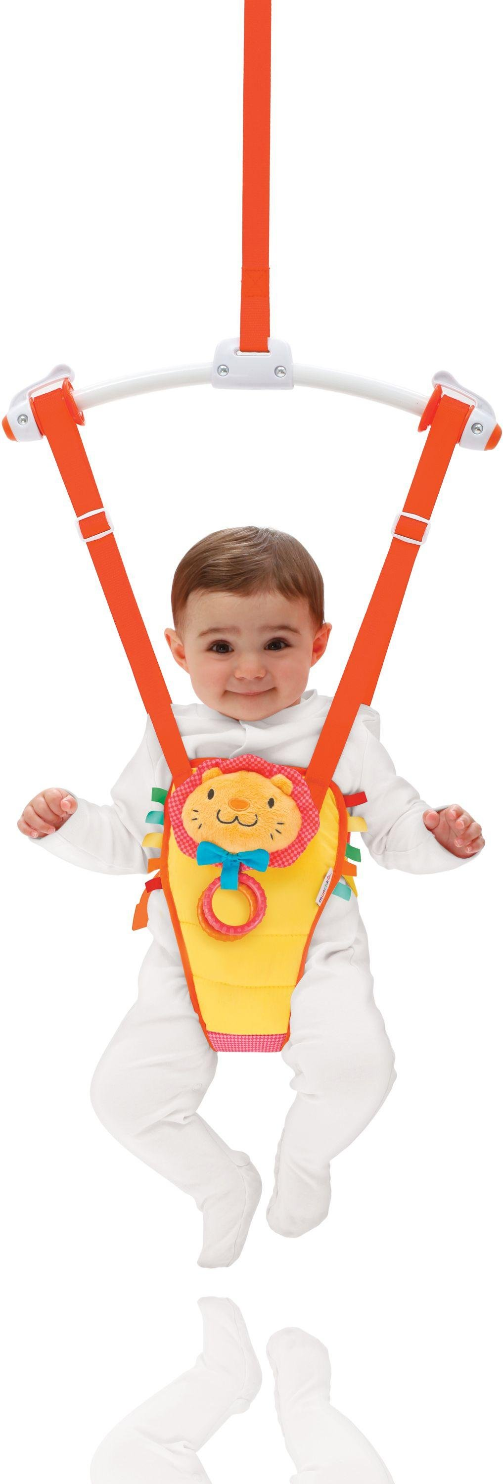 Munchkin Bounce and Play Bouncer.