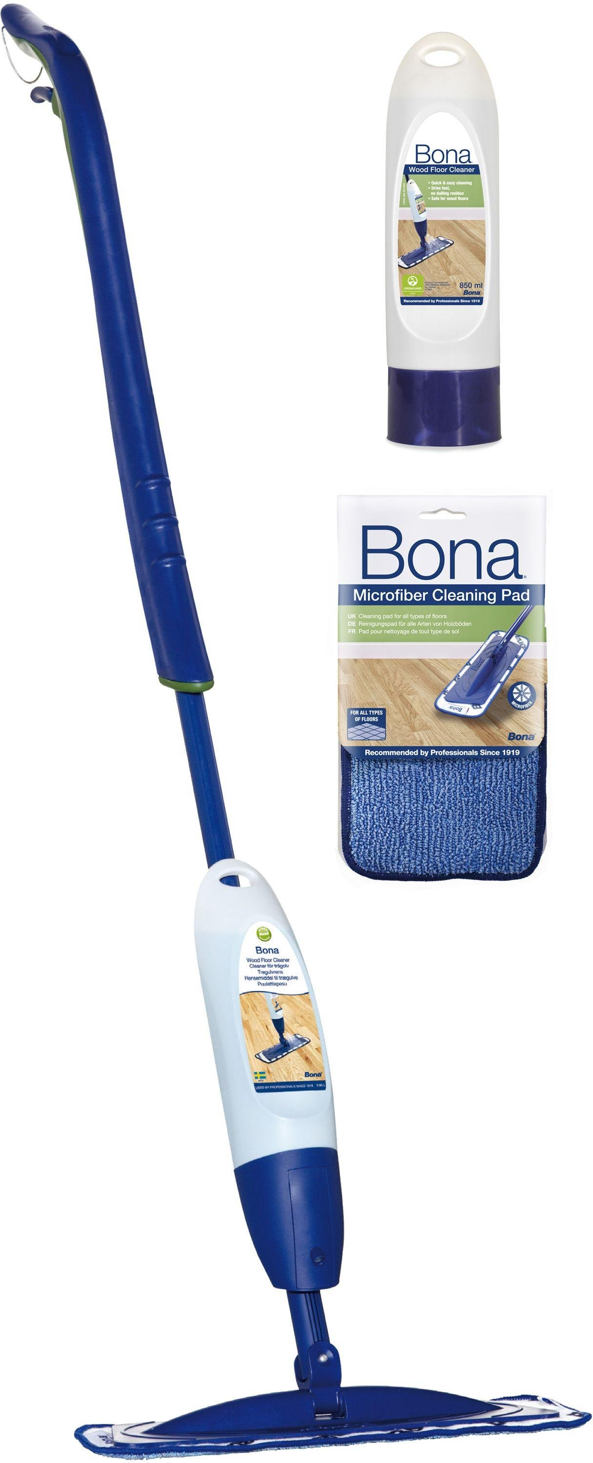 Bona Spray Mop Kit for Wood Floors.