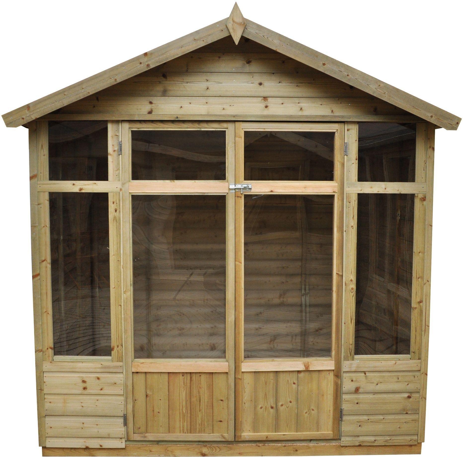 Forest Bloxham Wooden Summerhouse - 7 x 5ft