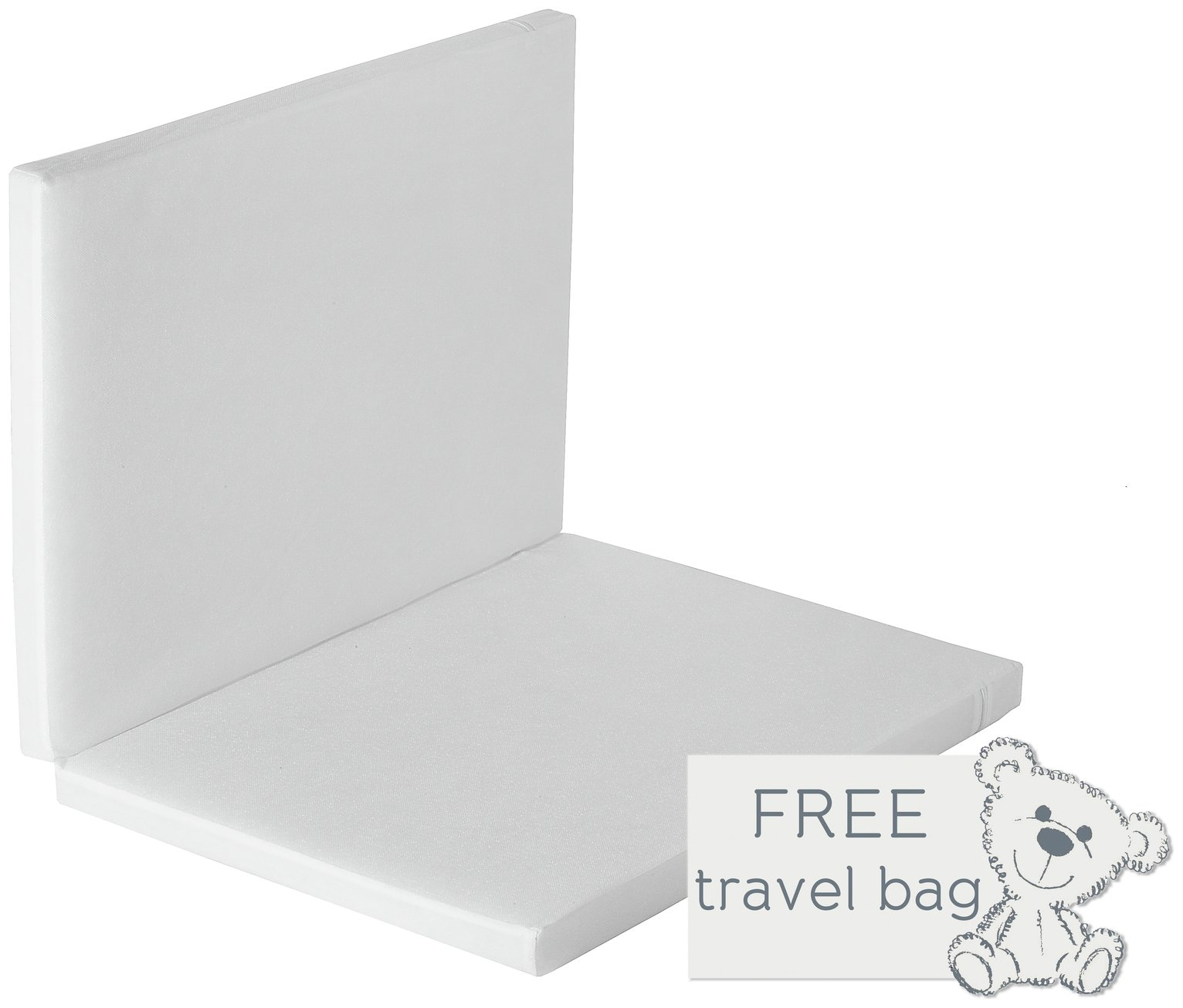 Baby Elegance Foldable Travel Cot Mattress - 66 x 94 cm.