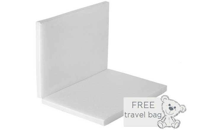 meet c8f5a 7072f Buy Baby Elegance Foldable Travel Cot Mattress - 66 x 94 cm | Cot and cot  bed mattresses | Argos