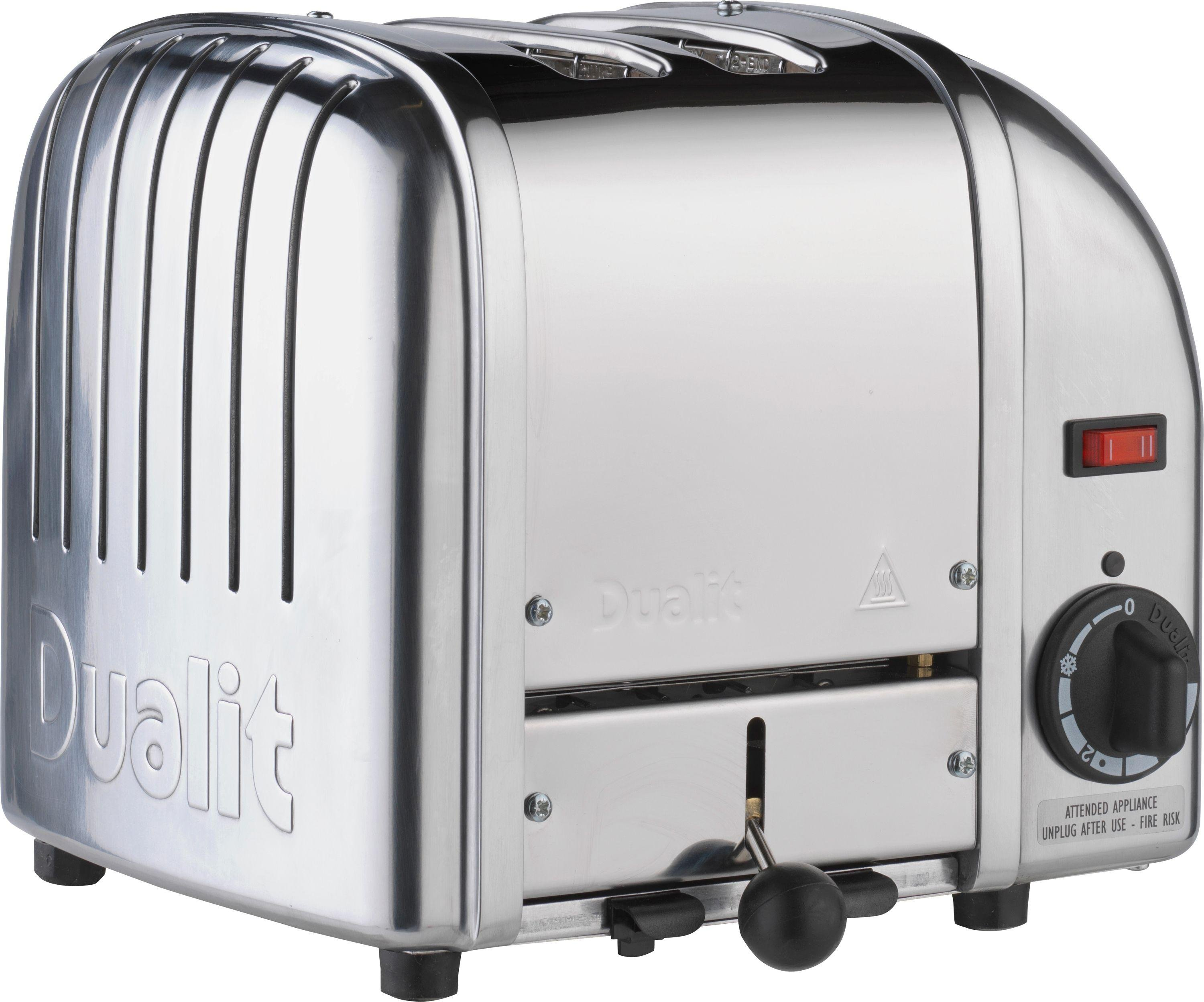 Image of Dualit - Toaster - Vario 20245 - 2 Slice - Stainless Steel.