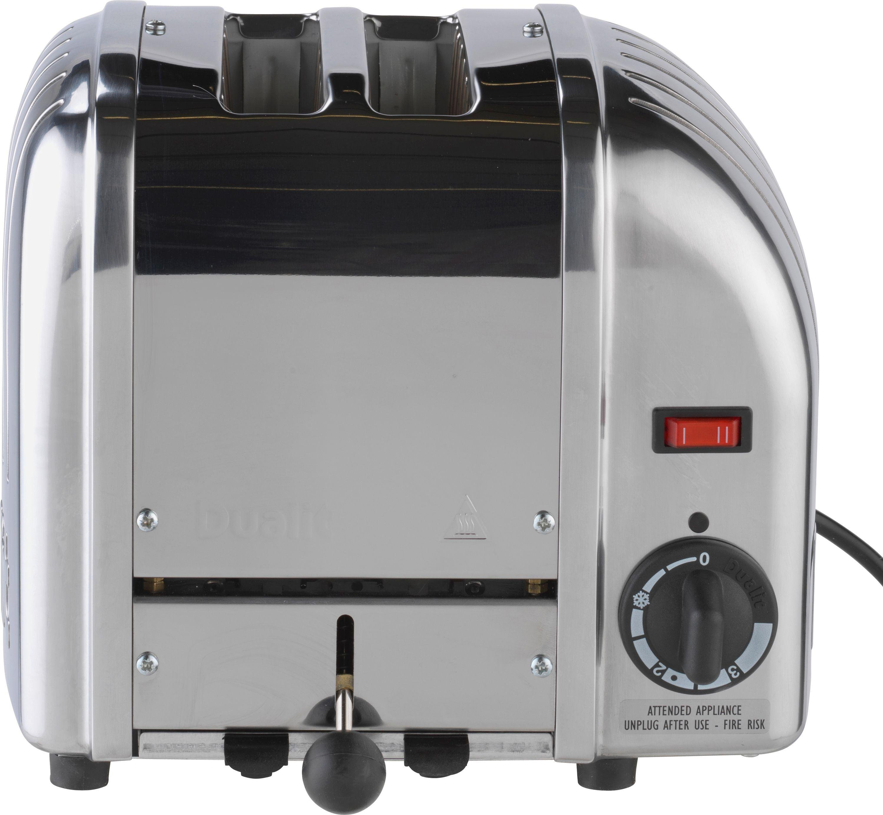 Buy Dualit Vario 2 Slice Toaster Stainless Steel at Argos