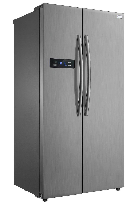 Russell Hobbs RH90FF176SS American Fridge Freezer - S/Steel