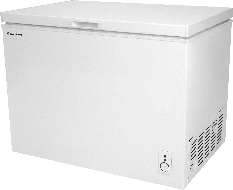 sale on russell hobbs rhcf300 chest freezer white. Black Bedroom Furniture Sets. Home Design Ideas