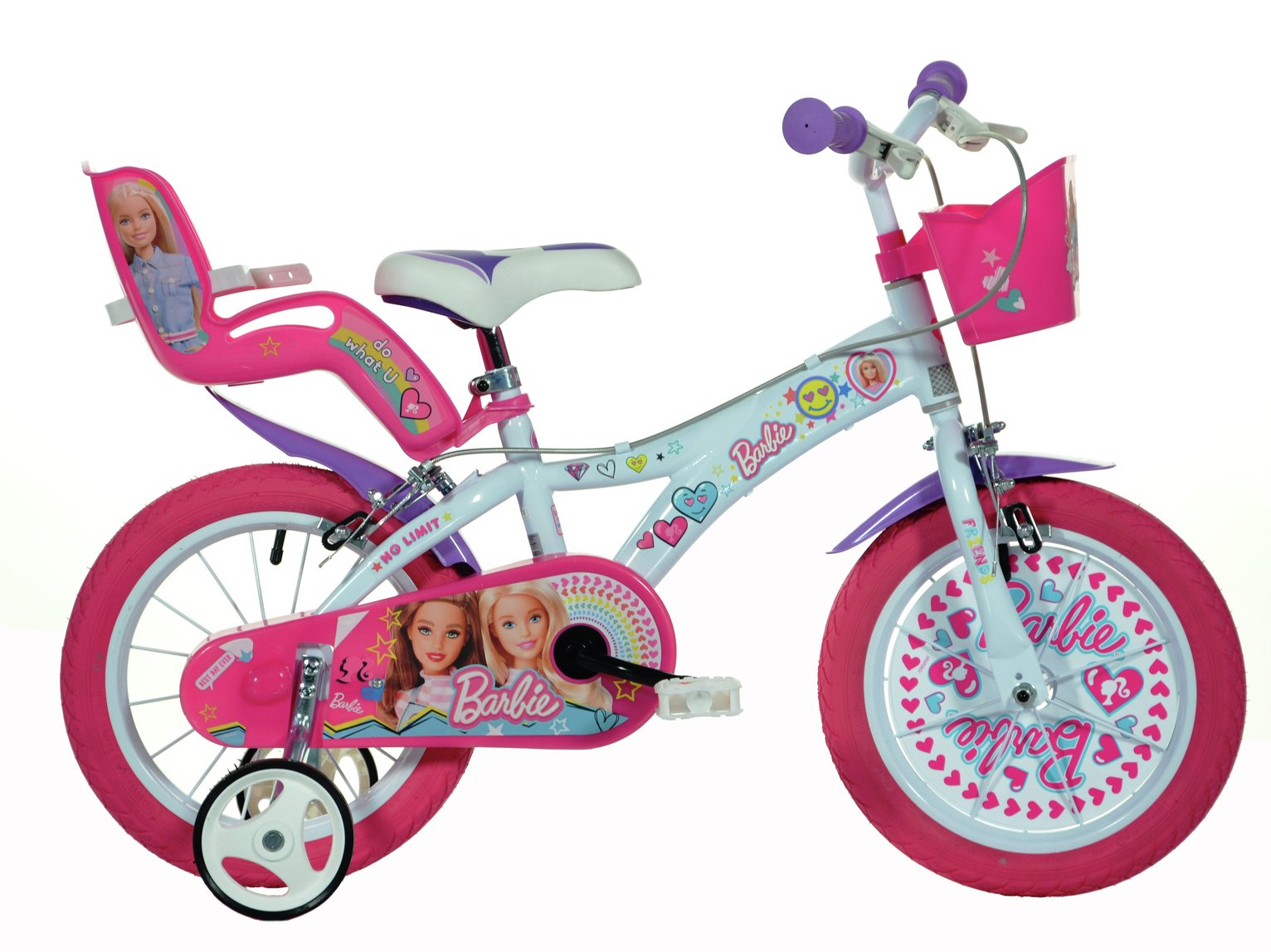 Barbie 14 Inch Kids Bike