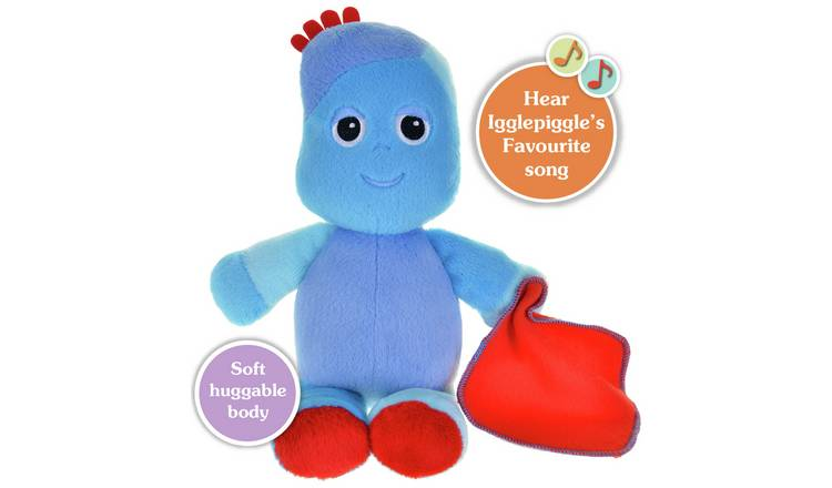 29cm Igglepiggle In the Night Garden NEW Snuggly Singing Iggle Piggle Soft Toy