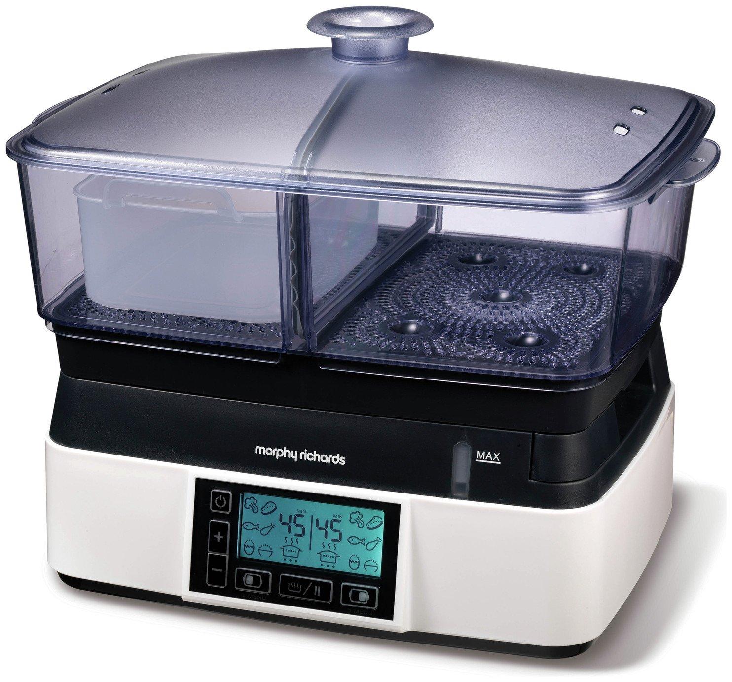 Morphy Richards 48775 Intellisteam Compact Food Steamer 6L