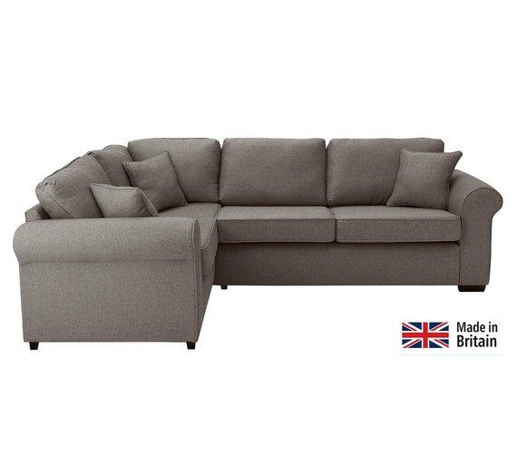 Buy Garden Corner Sofa: Buy Collection Erinne Fabric Left Hand Corner Sofa