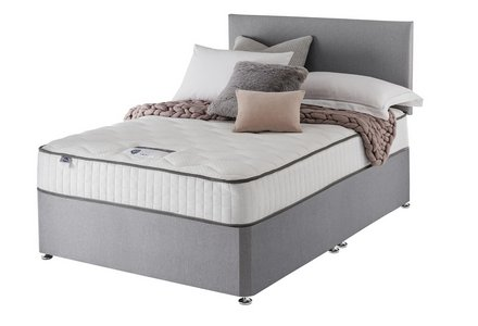Silentnight Middleton 800 Pocket Memory Grey Divan Double