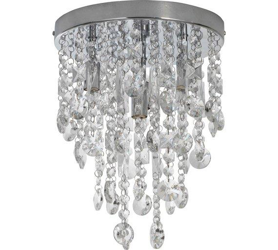 Buy heart of house cristallo 4 light ceiling fitting chrome heart of house cristallo 4 light ceiling fitting chrome aloadofball Images