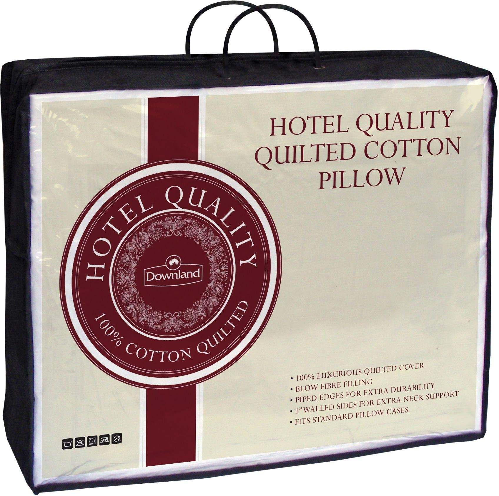 downland  100% cotton quilted pillow