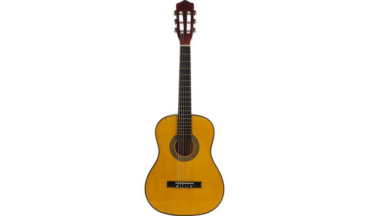 buy music alley 1 2 size classical acoustic guitar acoustic guitars argos. Black Bedroom Furniture Sets. Home Design Ideas