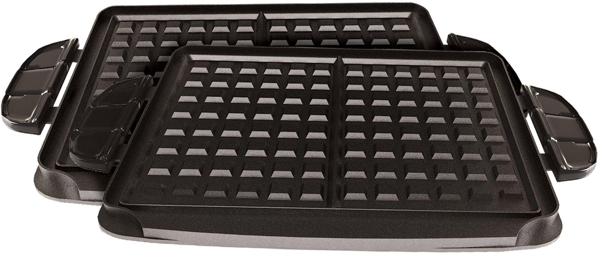 George foreman 21611 evolve grill red - Health grill with removable plates ...