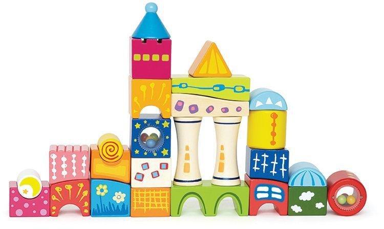 Marbel Ltd Hape Fantasia Blocks Castle.