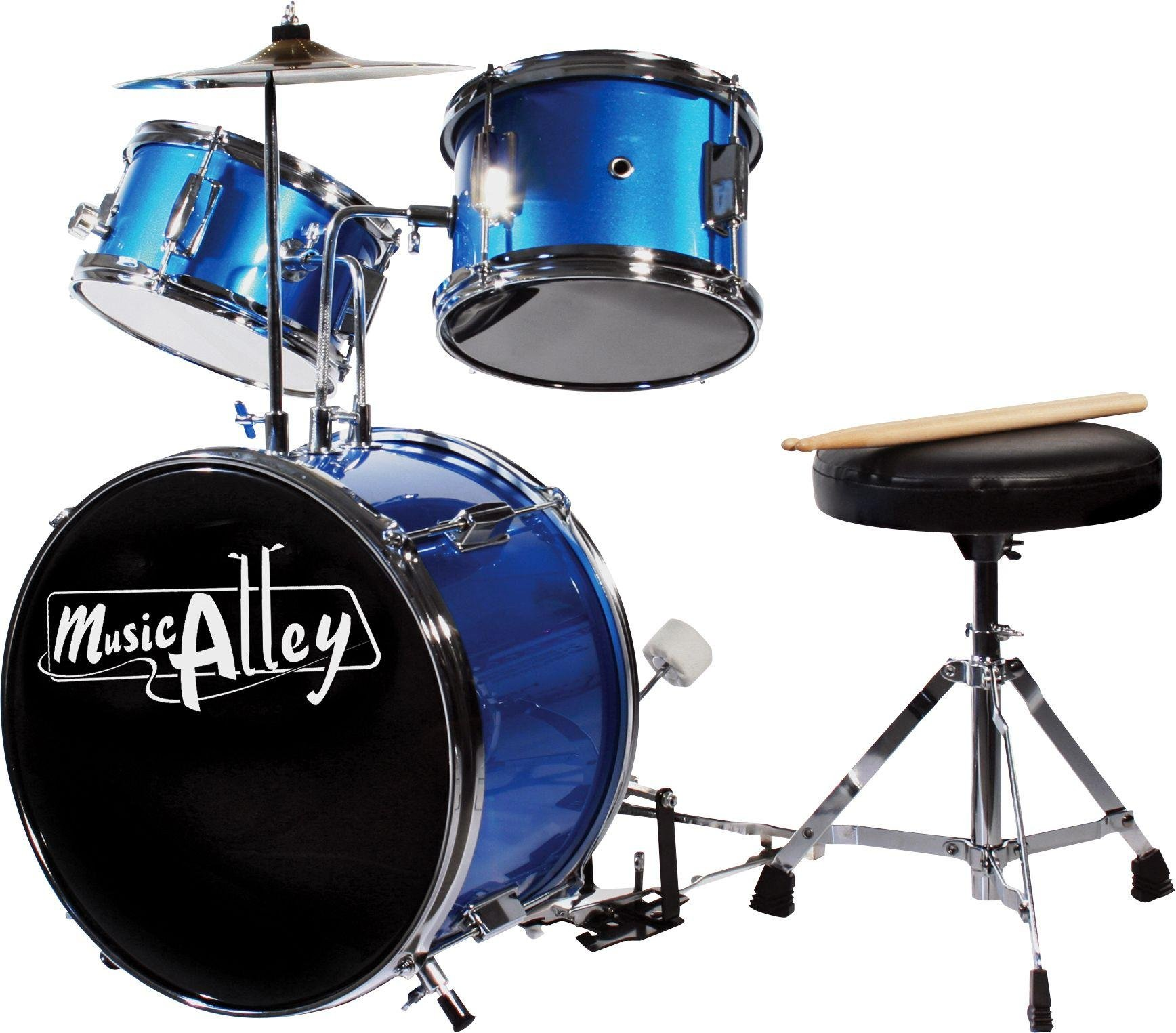 Music Alley Junior 3 Piece Drum Kit.